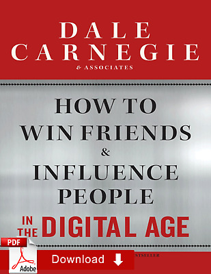 How to Win Friends and Influence People in the Digital Age 2nd ƤЃ [E-Virsion]