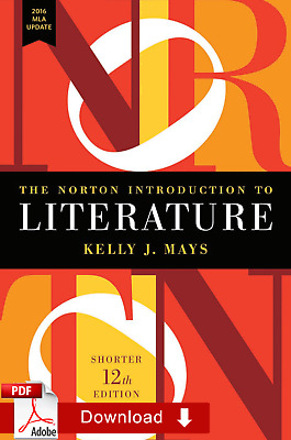 The Norton Introduction to Literature 12th edition by Kelly Mays ƤЃ [E-Virsion]