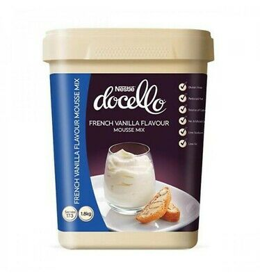 Nestle Docello French Vanilla Mousse Mix - DIY Vanilla Mousse