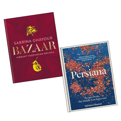 Sabrina Ghayour Bazaar Persiana Recipes from the Middle East 2 Books Collection