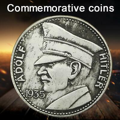 1935 WWII German Coin ADOLF HITLER World War II Commemorative Coin Alloy Gift