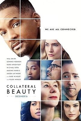 Collateral Beauty  - original DS movie poster - 27x40 D/S -