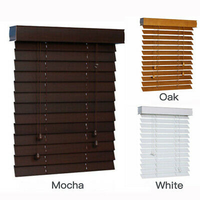 Venetian Blinds 50mm Basswood Traditional Wood Blinds Timber Window Blinds AU