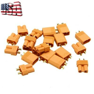 2/10/20Pcs XT30 Power Connector Plug Socket For RC Battery Quadcopter Helicopter