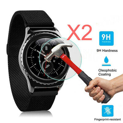 2x For Samsung Galaxy Gear S3 Classic / Frontier Tempered Glass Screen Protector