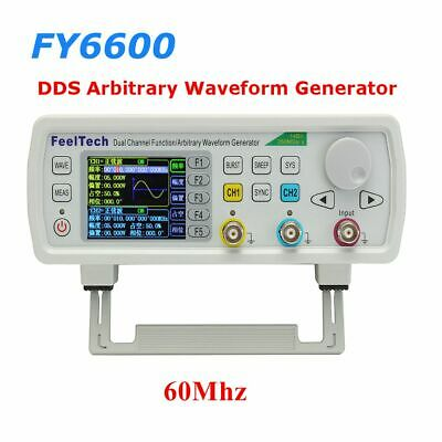 FY6600S 60MHz Dual Channel Arbitrary Waveform DDS Function Signal Generator