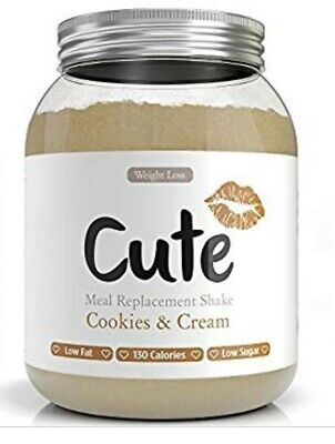 Cute Nutrition - Cookies and Cream Meal Replacement for Gym Health Weight loss