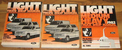 ford truck service manual