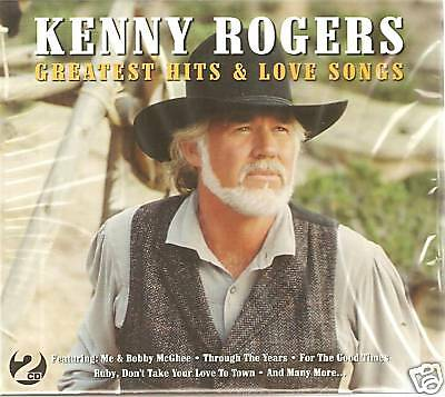 Kenny Rogers Greatest Hits & Love Songs 2 Cd Box Set