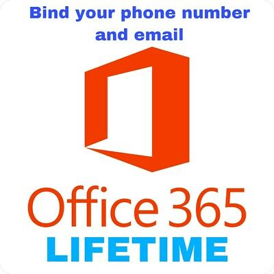 INSTANT Office 365 2019 Pro Plus License Lifetime ✔ Bind your phone & email