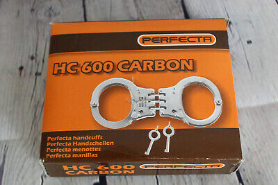 Perfecta Handcuff HC 600 Carbon Steel Nickel-Plated Profi Line Extreme