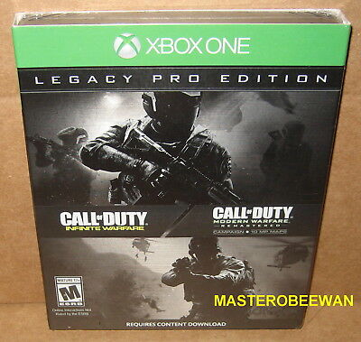 Call of Duty Infinite Warfare Legacy Pro Edition (Xbox One, 2016) New Sealed