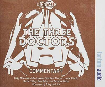 The Three Doctors by Hadoke, Toby, NEW Book, FREE & Fast Delivery, (Hardcover)