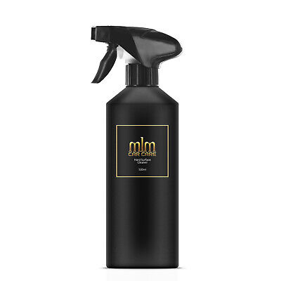 MLM Car Care Hard Surface Cleaner Antistatic Dash Plastic Trim Detailer 500ml
