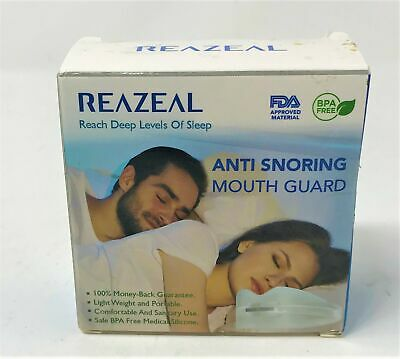 Reazeal Snore Stopper Mouthpiece Snoring Solution Mouth Guard