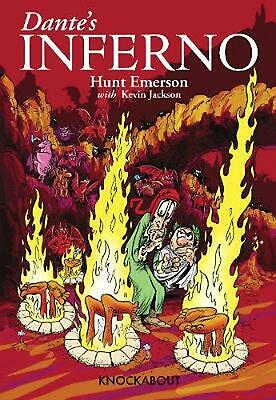 Dante's Inferno by Hunt Emerson (English) Paperback Book Free Shipping!