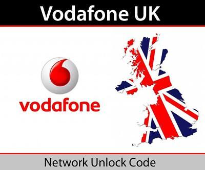 Vodafone UK IPHONE  6 6s 6+ 6s+ 7 7+ 8 8+  X Fast & Express Unlocking Service