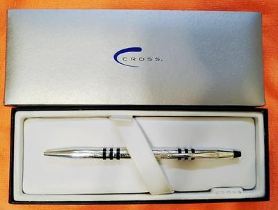 Cross Limited Edition Sterling Silver Ballpoint Pen New In Box Made In Usa