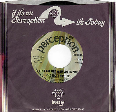 70s SOUL-EIGHT MINUTES-PERCEPTION-533-LOOKING FOR  A BRAND NEW GAME/FIND THE ONE