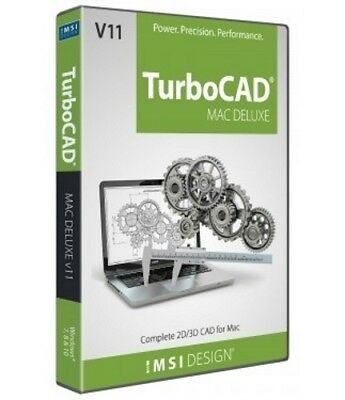 TurboCAD Mac Deluxe 11 CAD and Design Software for MAC -- Download