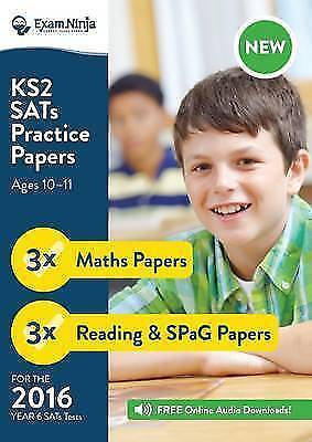 Ks2 Sats Practice Papers (english & Maths) For The 2016 Sats, ISBN 0993176410...