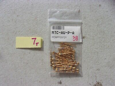 Lot Of 38 New Omega Male Pin Thermocouple Contacts Mtc-Au-P-A (333)