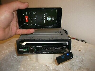 sony cdx-gt230 car cd stereo radio player mp3/wma/aux input