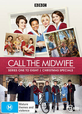 Call the Midwife series season 1+2+3+4+5+6+7+8 & Xmas Special DVD Box Set R4