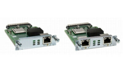 Cisco NIM-2FXO= voice network module FXO