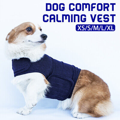 Pet Puppy Dog Comfort Zone Calming Vest Jacket Clothes Anxiety Calm Harnesses