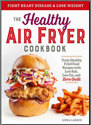 The Healthy Air Fryer Cookbook - Eb00k/PDF - FAST Delivery