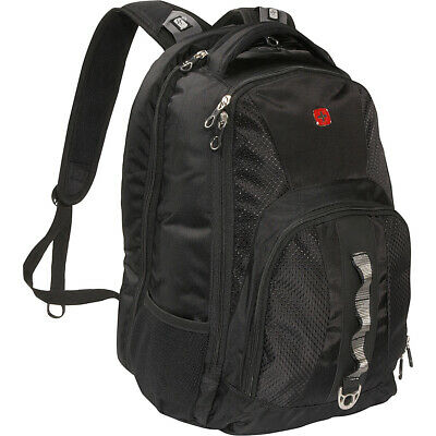 SwissGear Travel Gear ScanSmart Backpack 1271 - Black Business & Laptop Backpack