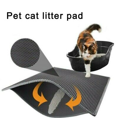 New Waterproof Folding Double-Layer Cat Litter Trapper Mat EVA Pet Mat Bottom