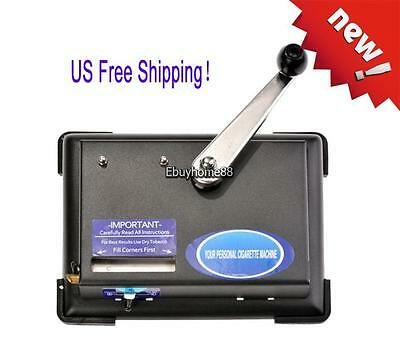 Cigarette Rolling Machine Making box Injector Maker Tobacco Roller Metal Smoke