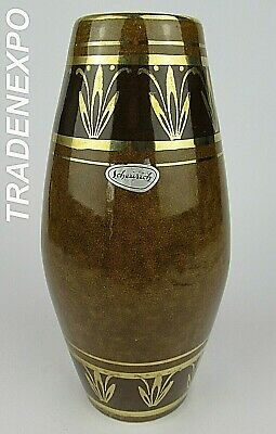 Vintage 1960-70's SCHEURICH 248/22 Vase West German Pottery Fat Lava Era MCM