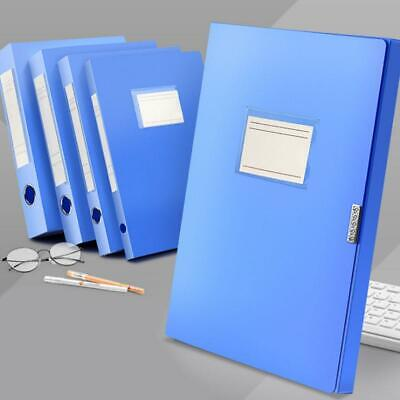 Quality A4 Blue Boxes Deep and Slim for Storage, Filing Documents Box Files