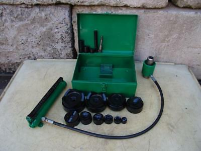 """Greenlee 7310 hydraulic knockout punch and die set 1/2 to 4"""""""