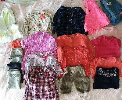 443202a78 Baby Girls Clothes Lot 6 Months, CARTERS AND OSHKOSH in EUC 20 peice lot
