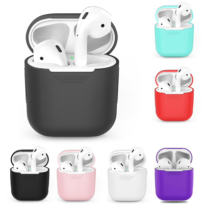 Coque Housse Antichoc Protection Apple AirPods Silicone Case Slim Ecouteur