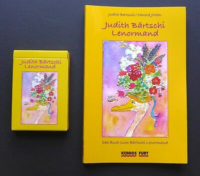 Judith Bärtschi Lenormand Fortune Telling Oracle Cards Deck Germany