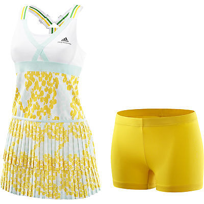 Adidas by Stella Mccartney Climalite Barricade Dress Tennis Dress Women New