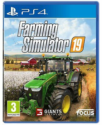 Farming Simulator 19 For PS4 (New & Sealed)
