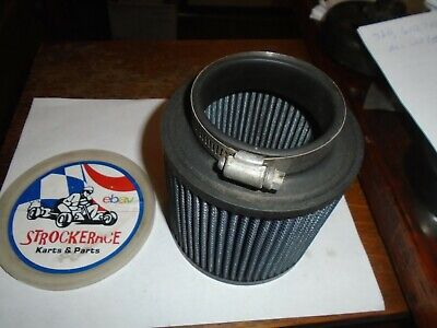 """4/"""" Tapered Chrome Air Filter Cleaner Go Kart Racing Cart Parts Briggs Clone"""