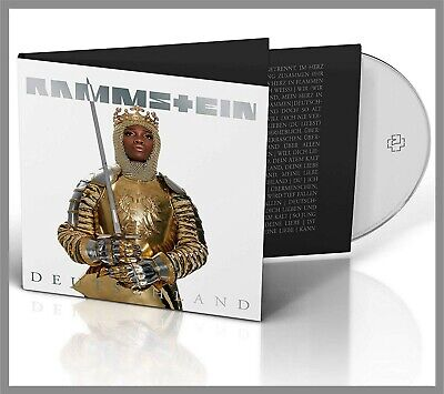"Rammstein ""deutschland"" 2-Track Single-CD NEU 2019"