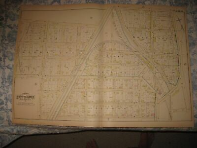 Antique 1882 23Rd Ward West & Morrisania North & Melrose Bronx New York City Map