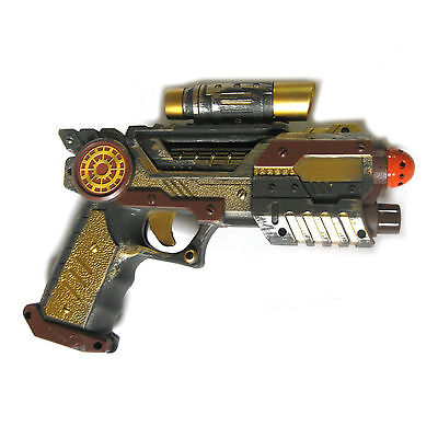 Steampunk Revolver Retro Blaster Space Gun Halloween Party Prop