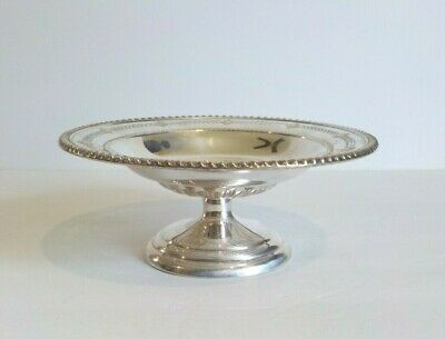"""Birks Canadian Sterling Silver Reticulated 7.5"""" Compote, 218 grams"""