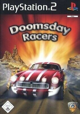 PS2 / Sony Playstation 2 game - Doomsday Racers boxed