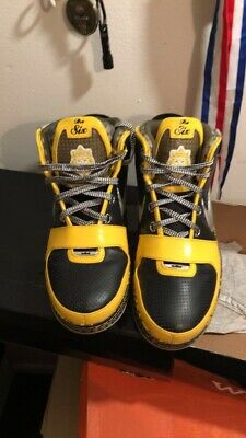 adb31db4bef0 NIKE AIR LEBRON 6 Taxi size 12 Extremely Rare -  77.00