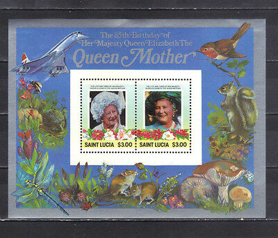 St. Lucia -   Unused Sheet Stamps (35LU)